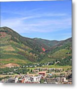 Colorado Mountain Town Metal Print