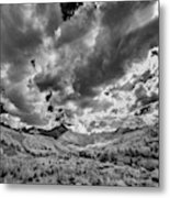 Colorado Sun Rays II Metal Print