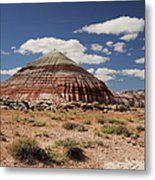 Colorful Bentonite Hills Metal Print