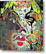 Colorful Makeup Metal Print