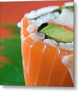 Colorful Sushi Metal Print