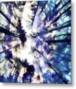 Colorful Trees Vi Metal Print