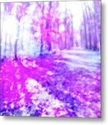 Colorful Trees Xv Metal Print