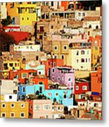 Colors On Hill Metal Print