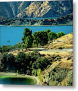 Columbia River Lakes Metal Print