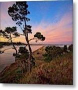 Columbia River Sunrise Metal Print
