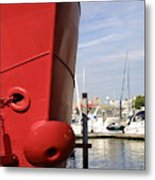 Come To Port Metal Print