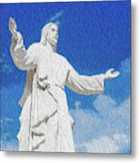 Come Unto Me Metal Print