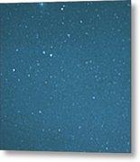 Comet Iras-araki-alcock And Star Metal Print