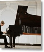 Concert In The Rachmaninov Hall Of The Metal Print