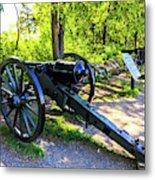 Confederate 20 Pound Parrott Rifles Metal Print