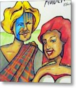 Connla and the fairy maiden 1060ce Metal Print