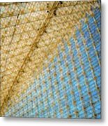 Constructive Abstract Metal Print