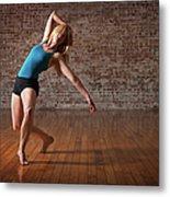 Contemporary Ballet Dance Performance Metal Print