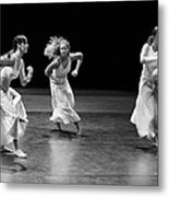 Contemporary Dance Metal Print