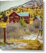 Continental Divide Metal Print