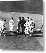 Controversial Call In The 1935 World Metal Print