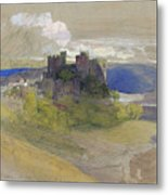 Conway Castle - Digital Remastered Edition Metal Print