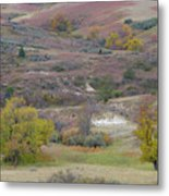 Copper Hills Autumn Metal Print
