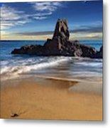 Corona Del Mar Beach Metal Print