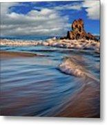 Corona Del Mar Beach II Metal Print