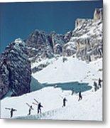 Cortina Dampezzo Metal Print