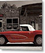 Corvette Cafe - C1 Metal Print