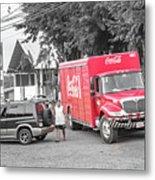 Costa Rica Soda Truck Metal Print