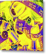 Crafting Colours Metal Print