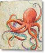 Creatures Of The Ocean II Metal Print