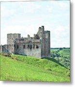 Crighton Castle In Summer Metal Print