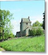 Crighton Church And Track Metal Print
