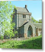 Crighton Historic Church Metal Print