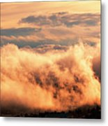 Cripple Creek Fog Metal Print