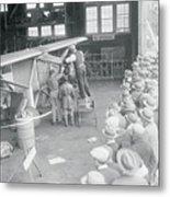 Crowds Watching The Preparation Metal Print