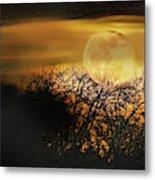 Crows Nest Full Moon Metal Print