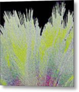 Crystalized Cacti Spears 2c Metal Print