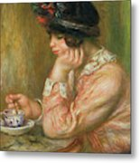 Cup Of Chocolate, 1914  Metal Print