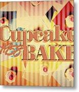 Cupcake Bake 1958 Metal Print
