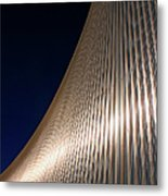Curved Cladding Metal Print