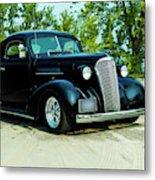 Custom 1937 Chevrolet Coupe Metal Print