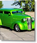 Custom 1938 Chevrolet 2 Door Coach  Metal Print
