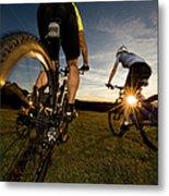Cycling Adventure Metal Print