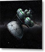 Daedalus Interstellar Metal Print