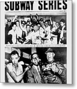 Daily News Front Page October 3, 1948 Metal Print
