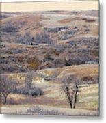 Dakota Prairie Slope Reverie Metal Print