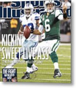 Dallas Cowboys V New York Jets Sports Illustrated Cover Metal Print