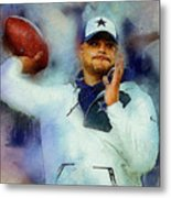 Dallas Cowboys.dak Prescott. Metal Print