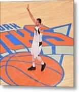 Dallas Mavericks V New York Knicks Metal Print