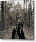 Damsel Of The Forest Metal Print